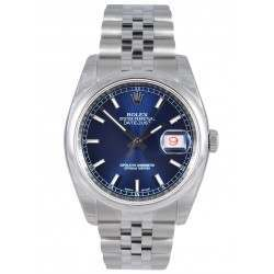 Rolex Datejust Blue/index Jubilee 116200