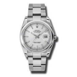 Rolex Datejust Silver/index Oyster 116200
