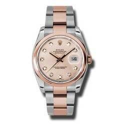 Rolex Datejust Pink/Diamond Oyster 116201