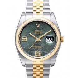 Rolex Datejust Green Arab Jubilee 116203