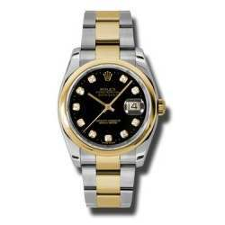 Rolex Datejust Black/Diamond Oyster 116203
