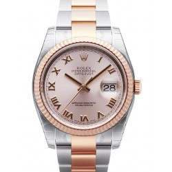 Rolex Datejust Pink Roman Oyster 116231