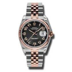 Rolex Datejust Black Arab Concentric Jubilee 116231