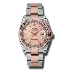 Rolex Datejust Pink/index Oyster 116231