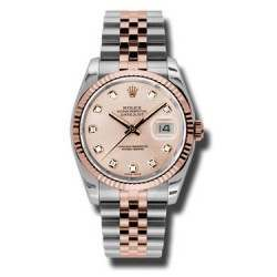 Rolex Datejust Pink/Diamond Jubilee 116231