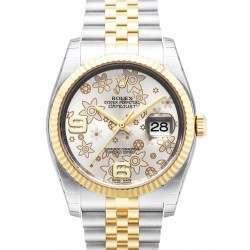 Rolex Datejust Silver Arab Jubilee 116233