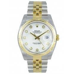 Rolex Datejust White/Diamond Jubilee 116233
