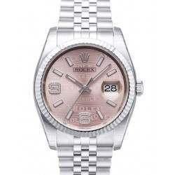 Rolex Datejust Pink/Diamond Jubilee 116234