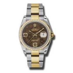 Rolex Datejust Bronze Arab Oyster 116243