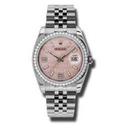Rolex Datejust Pink/Diamond Jubilee 116244