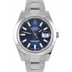 Rolex Datejust II Blue/ Index Oyster 116300