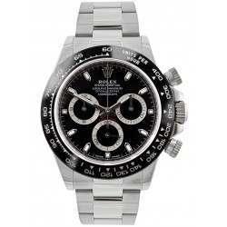 Rolex Cosmograph Daytona Steel Black/ Index 116500LN
