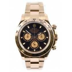 Mint condition 2012 Rolex Daytona EverRose Black Dial- 116505 (b)