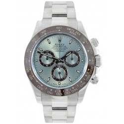 Rolex Cosmograph Daytona Platinum Ice Blue Dial 116506