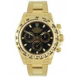 Rolex Cosmograph Daytona Black/ Index 116508