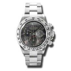 Rolex Daytona White Gold Black Mother or Pearl dial- 116509