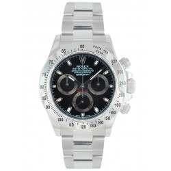Rolex Cosmograph Daytona Steel Black 116520
