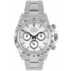 Rolex Cosmograph Daytona Steel White Dial 116520