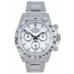 Rolex Cosmograph Daytona Stainless Steel White/index 116520