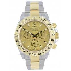 Rolex Cosmograph Daytona Steel & Gold Champagne/index 116523