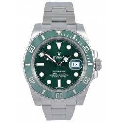 Rolex Submariner Date Stainless Steel Green Dial (Hulk) 116610LV