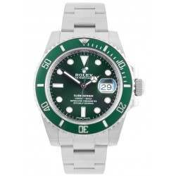 Rolex Submariner Date Stainless Steel Green Dial (Hulk) 116610LV