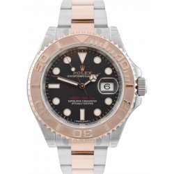 Rolex Yacht-Master 40mm Steel&Gold Black/ Index Oyster 116621