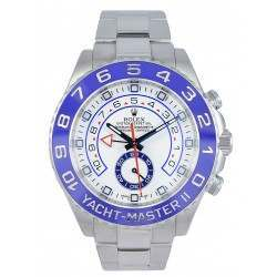 As New Rolex Yacht-Master II White/Hour Markers Oyster 116680