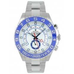 As New Rolex Yacht-Master II White Oyster 116680