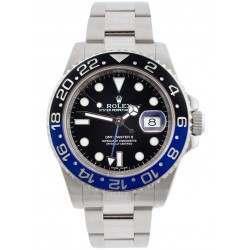 "Rolex GMT-Master II Steel Black & Blue ""Batman"" 116710BLNR"