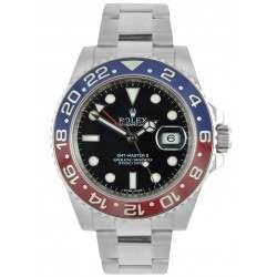 Rolex GMT-Master II Blue and Red Bezel 116719BLRO