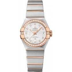 Omega Constellation Brushed Chronometer 123.25.27.20.55.005