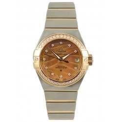 Omega Constellation Brushed Chronometer Pluma 123.25.27.20.57.003