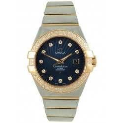 Omega Constellation Brushed Chronometer 123.25.31.20.53.001
