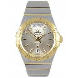 Omega Constellation Day-Date Chronometer 123.20.38.22.02.002