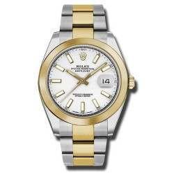 Rolex Datejust 41 White/ Index Oyster 126303