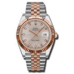 Rolex Datejust 41 Steel and Gold Sundust/Diamond Jubilee 126331