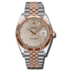 Rolex Datejust 41 Steel and Gold Sundust/index Jubilee 126331