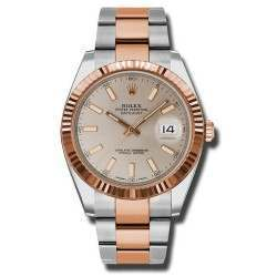 Rolex Datejust 41 Steel and Gold Sundust/index Oyster 126331
