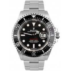 """Rolex Sea-Dweller 4000 Black Dial """"Red Writing"""" Steel and Ceramic 126600"""