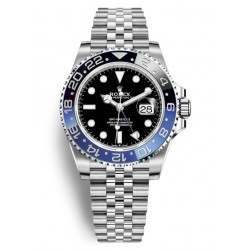 Rolex GMT-Master II Stainless Steel Black and Blue 126710BLNR