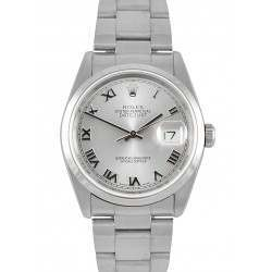 Rolex Datejust Silver/ Roman Oyster 16200
