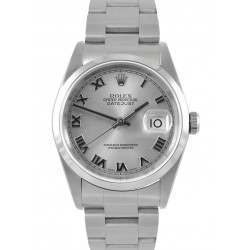 Rolex Datejust Silver/ Roman Dial Oyster 16200