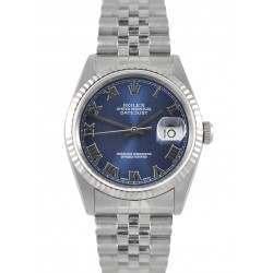 Rolex Datejust Blue/ Roman Dial Jubilee 16234