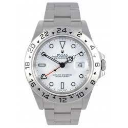 Rolex Explorer II White dial 16570