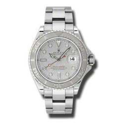 Rolex YachtMaster Platinum Dial - 16622