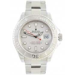 Rolex Yachtmaster Platinum Dial Oyster Bracelet 16622