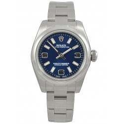 Rolex Perpetual No-Date 26mm Blue Arab Oyster 176200