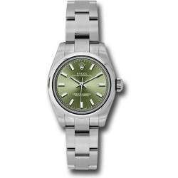 Rolex Oyster Perpetual 26 Olive Green/ Index Oyster 176200