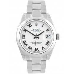 Rolex Lady Datejust 31mm White Roman Oyster 178240